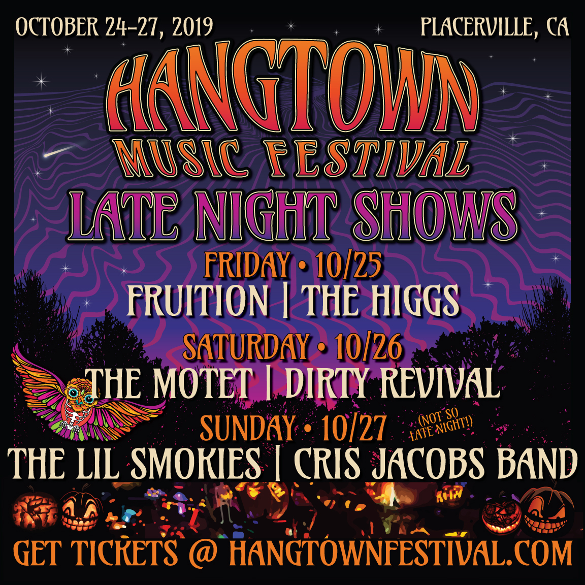 Late Night Shows - Hangtown Festival